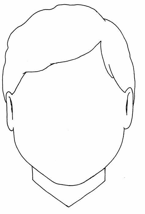 Face Coloring Sheet