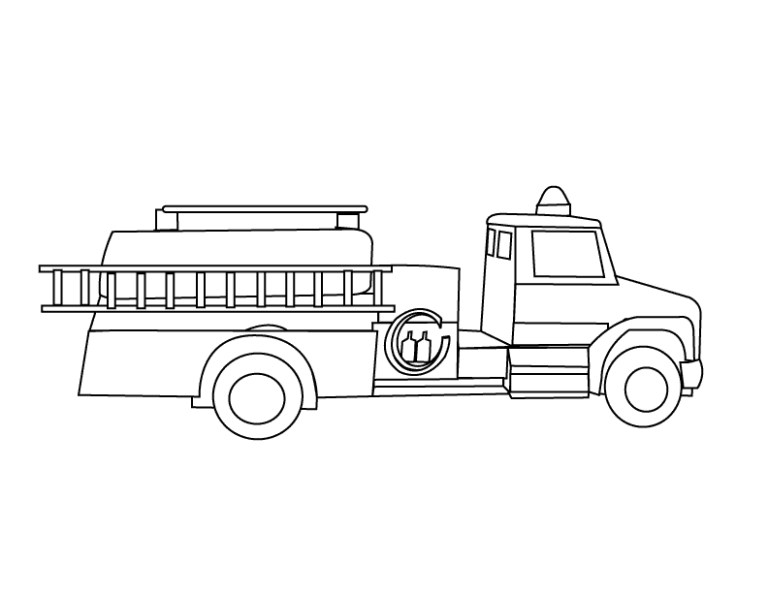 fire truck coloring pages to download and print for free images