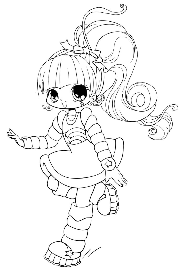 Free Cute Coloring Pages