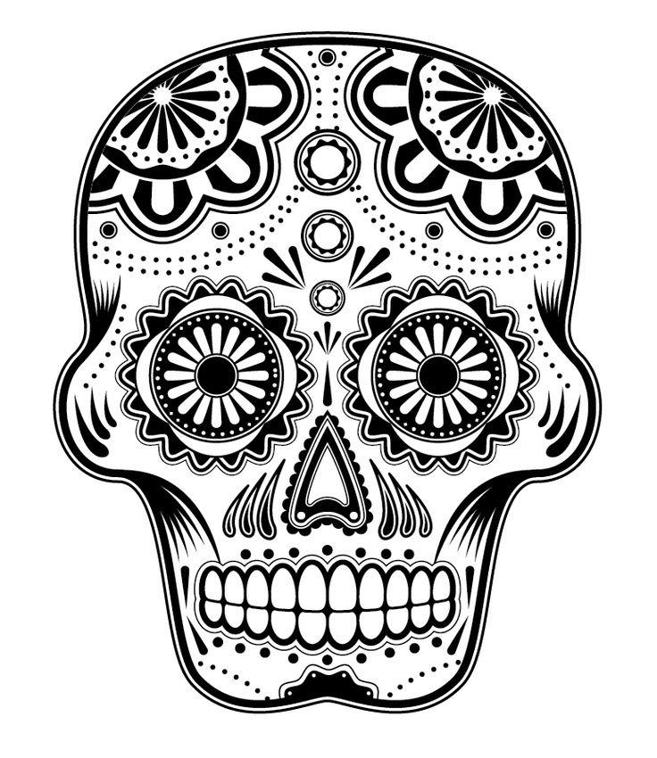 Free Dia De Los Muertos Coloring