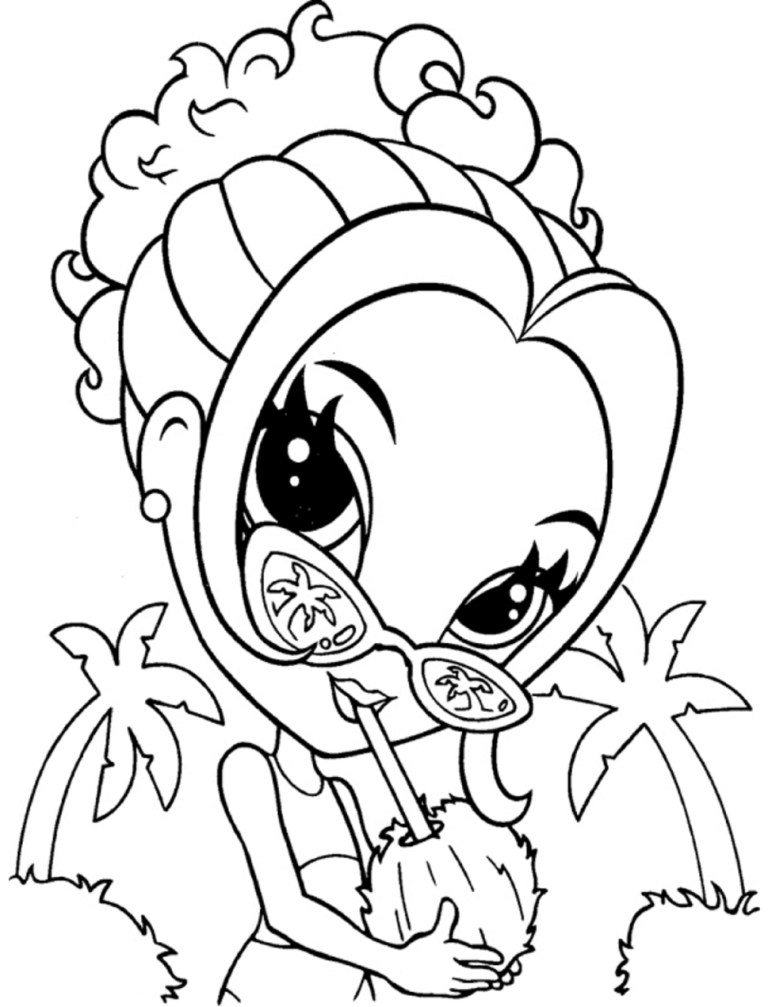Free Lisa Frank Coloring Pages