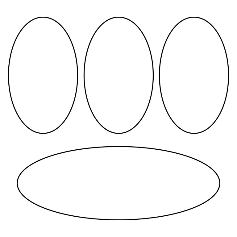 Free Oval Coloring Pages