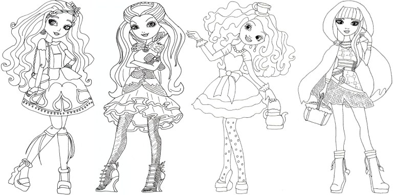 free printable ever after high photos
