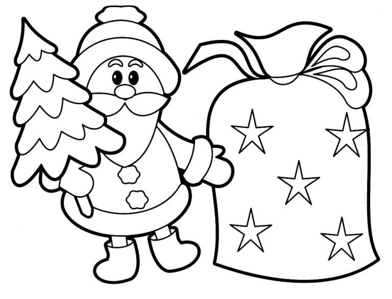 free printable santa claus photos