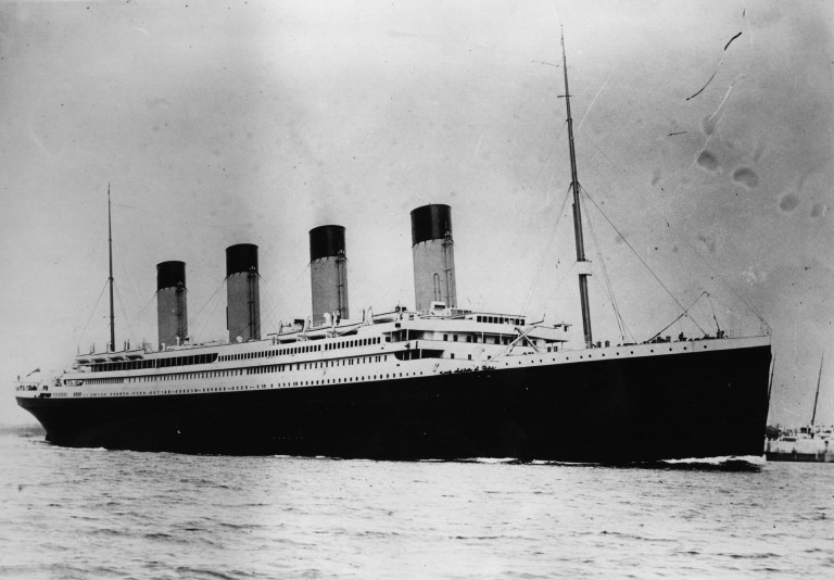 Free Titanic Coloring Pages Downloads