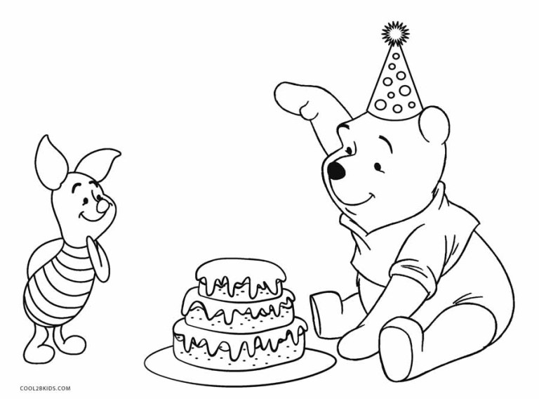 Free Winnie The Pooh Coloring Pages