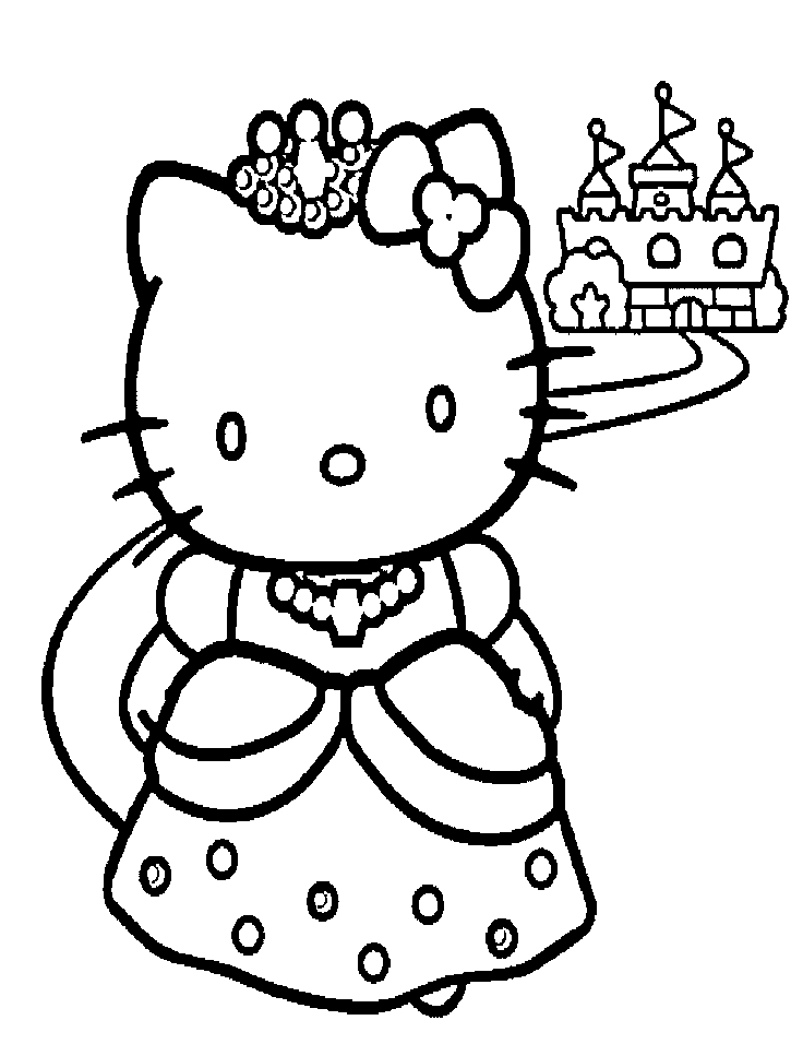 hello kitty ballerina for girls colourful