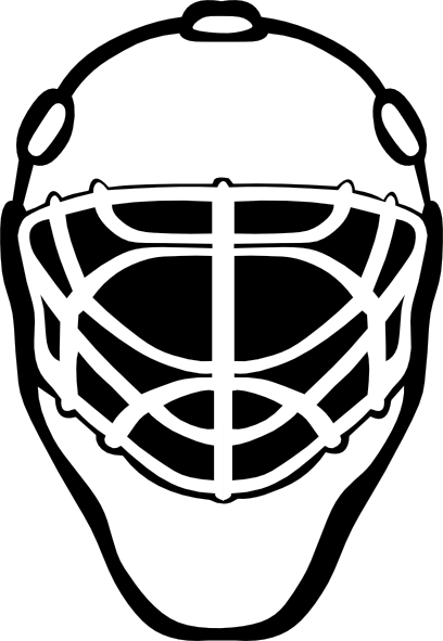 Hockey Net Coloring Pages
