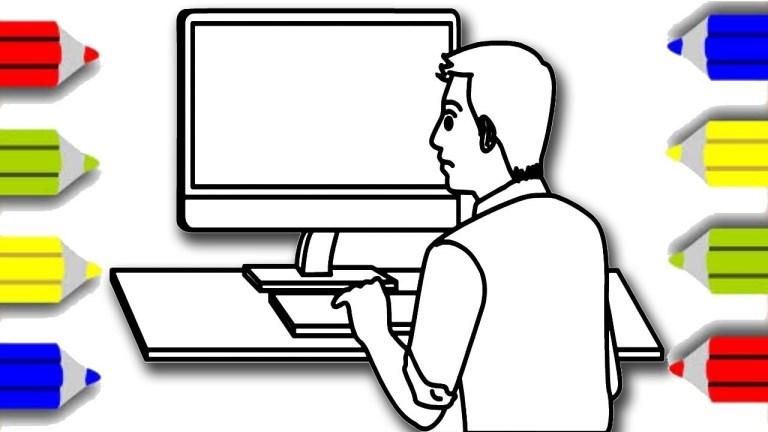 How To Print Coloring Pages From A Computer