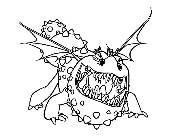 How To Train Your Dragon Coloring Pages Printable