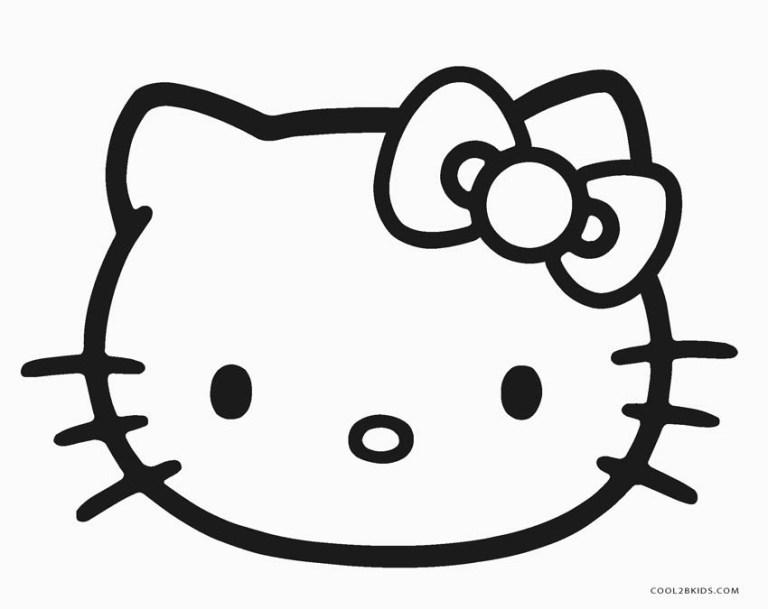 logo face hello kitty