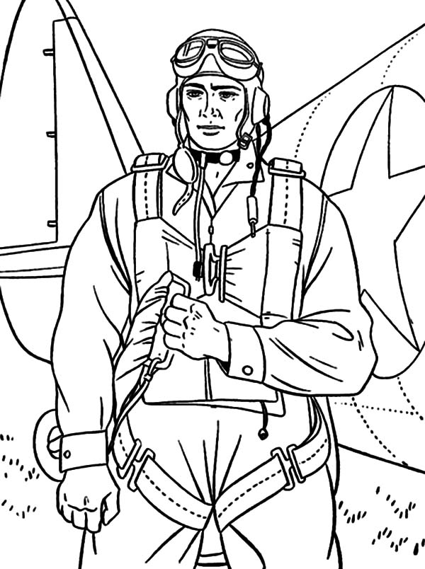 military soldier bring parachute coloring pages free downloads