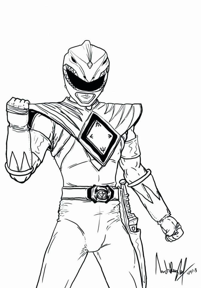 Power Rangers Colorings
