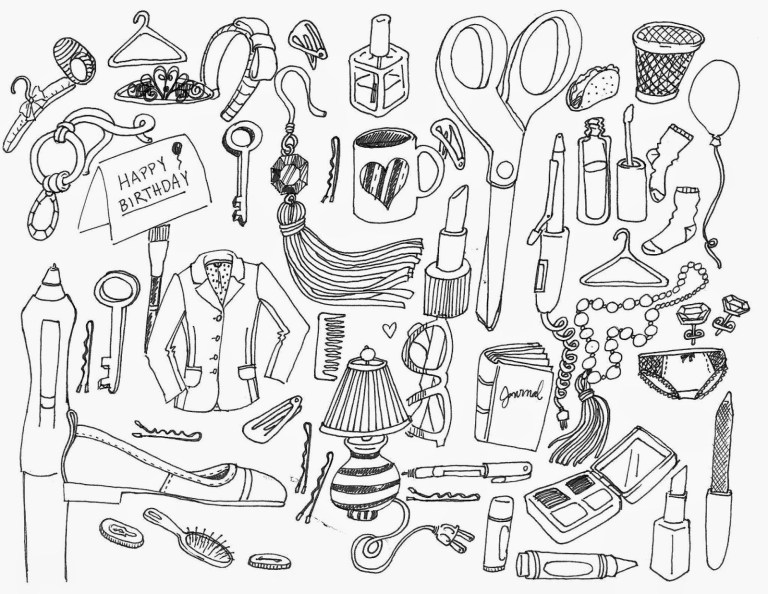 printable aesthetic coloring pages