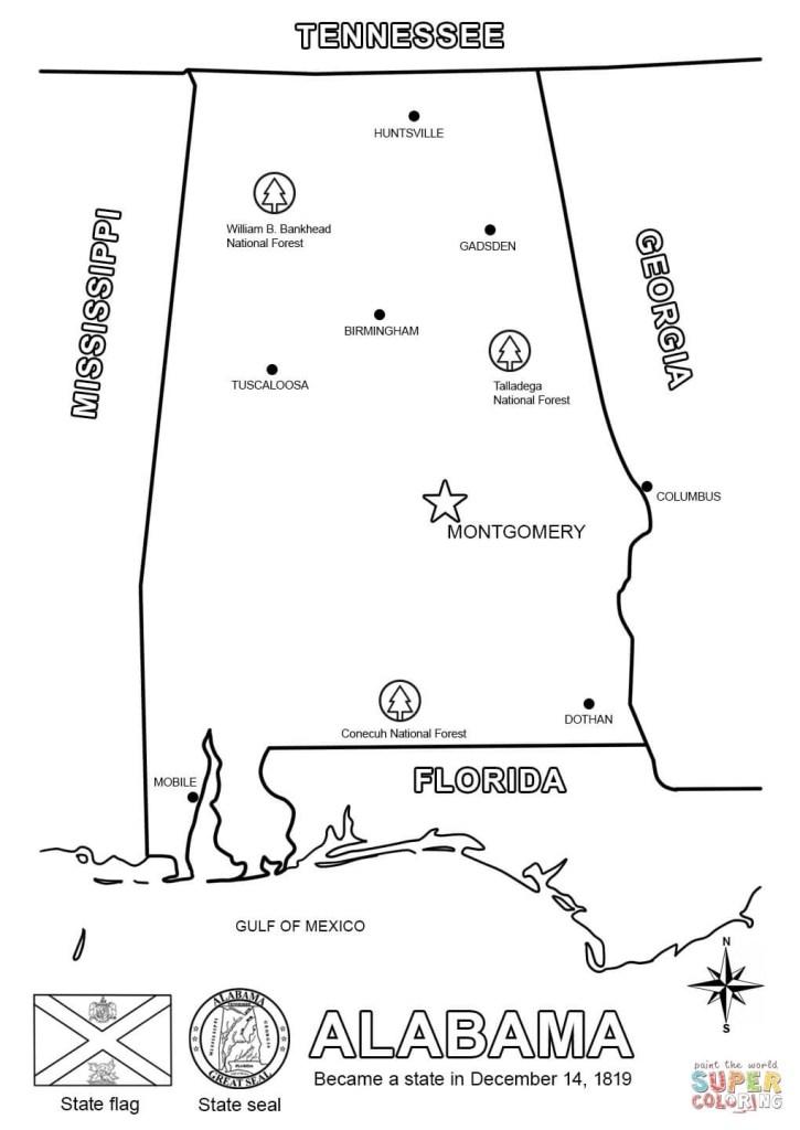 Printable Alabama A