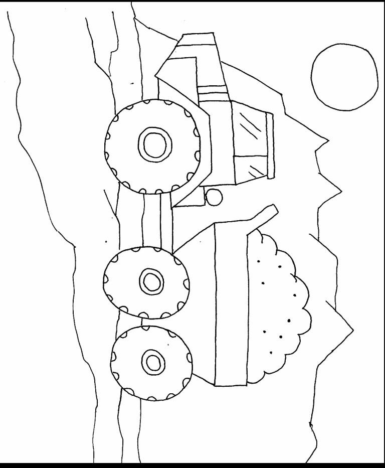 printable construction car truck