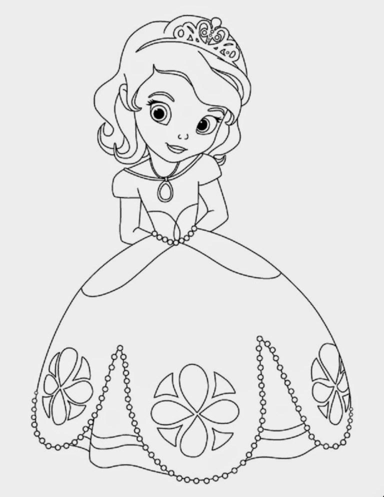 printable princess sofia disney pictures