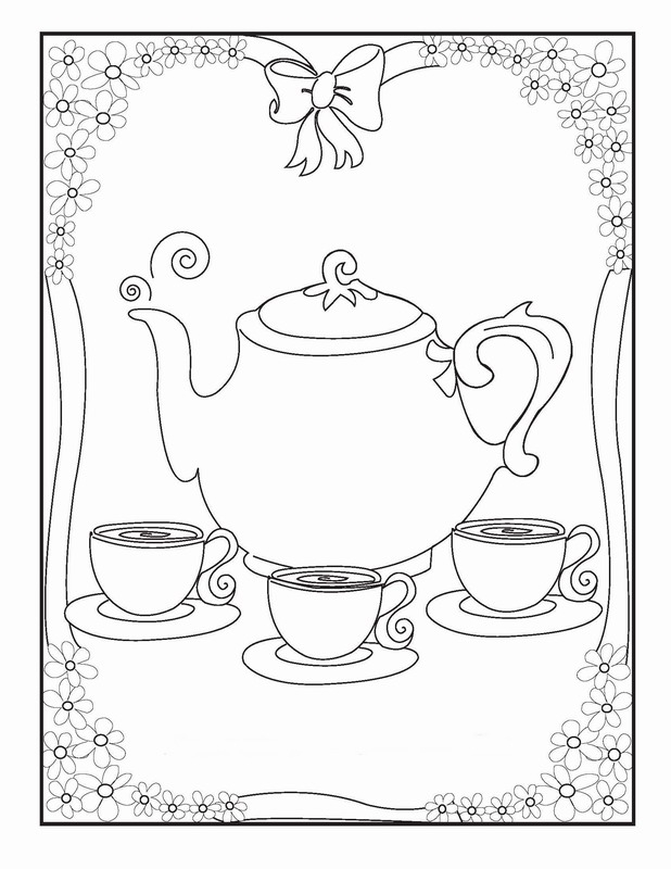 Printable Tea Cup