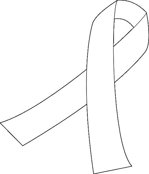 ribbon for cancer clip art at vectors