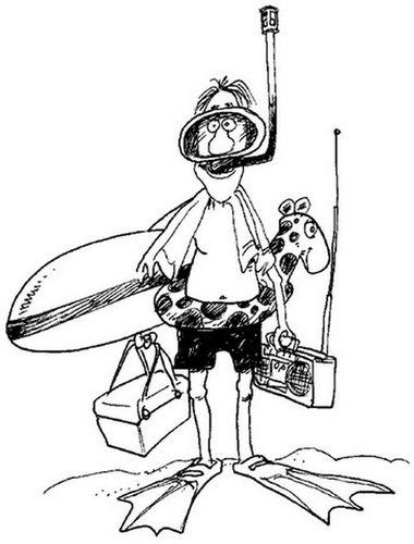 scuba diver coloring pages printable sketch online
