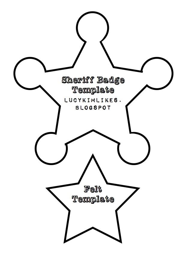 Sheriff Badge For Kids