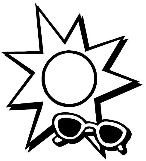 sunglasses template to print