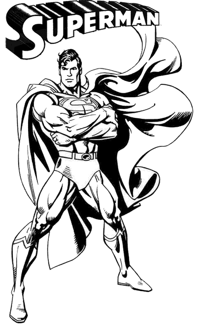 Superheroes printable coloring pages to sharing friends