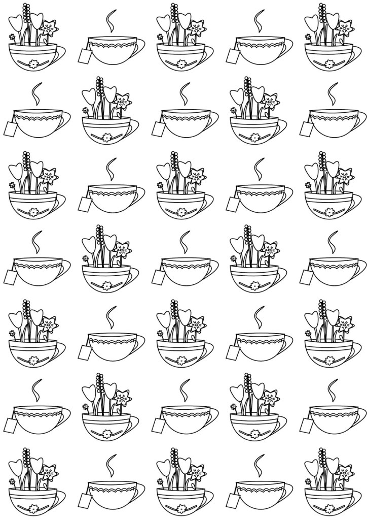 Teacup Printable
