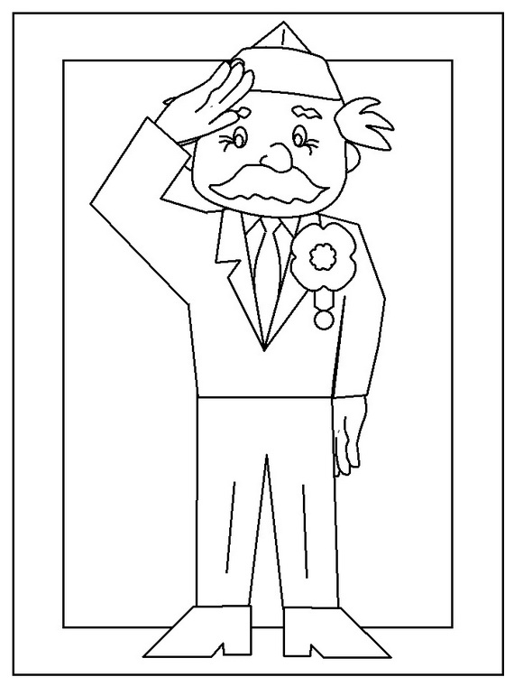 Thank You Veterans Coloring Pages