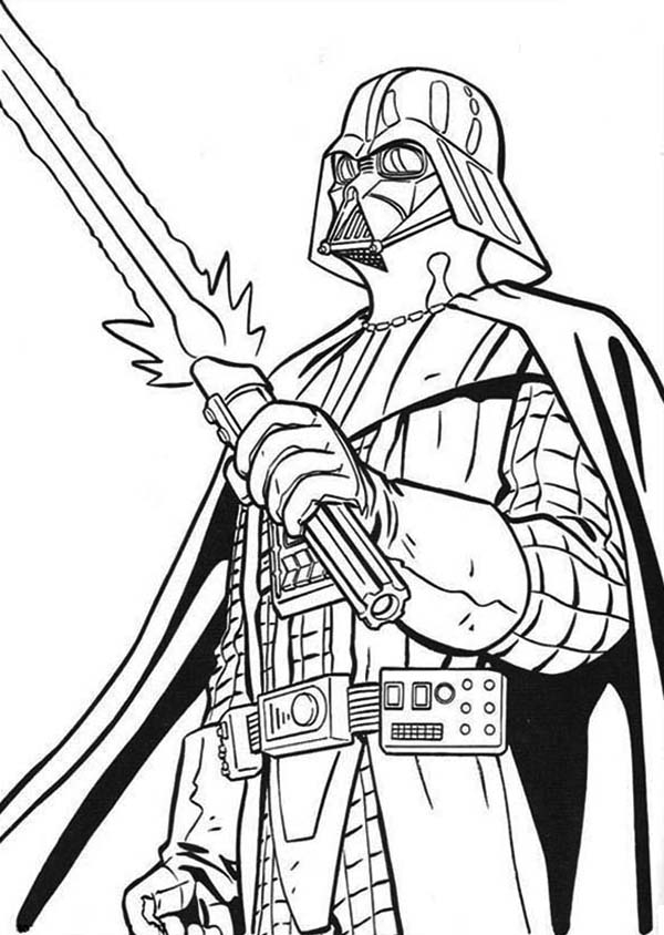 the terrifying darth vader picture