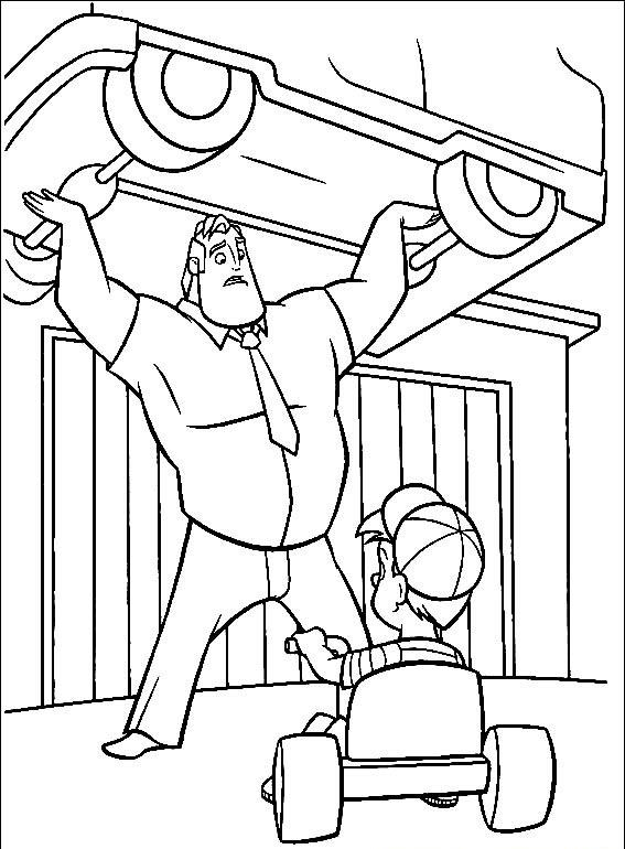 Violet Coloring Page