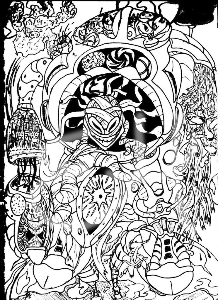 Weed Coloring Pages