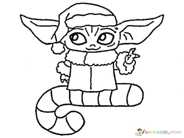 Baby Yoda Printable Image