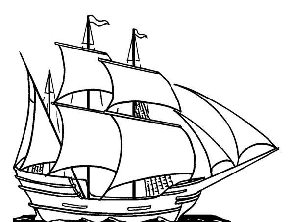 Boat To Color