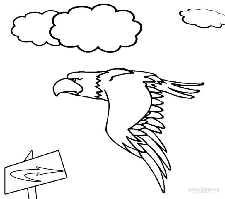 Coloring Eagle