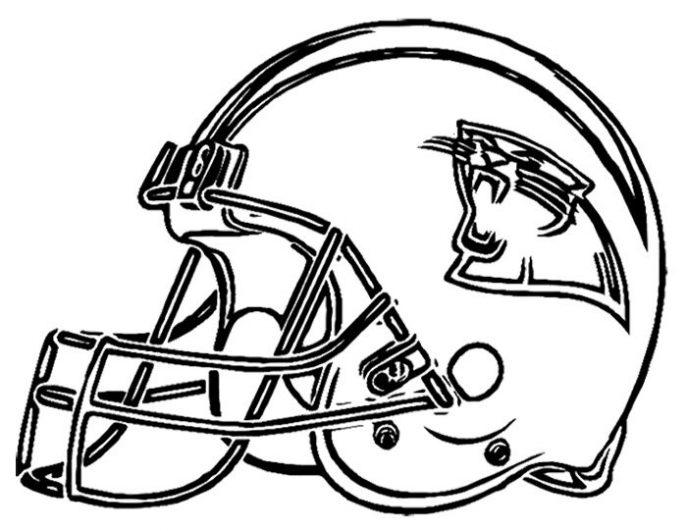 Coloring Football Helmets