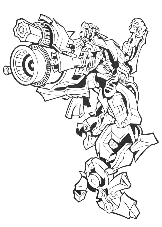 Coloring Page Transformer