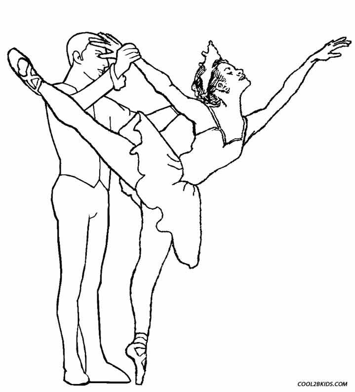 Coloring Pages Dance