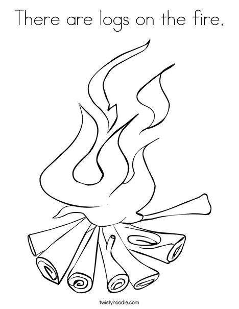 Coloring Pages Fire