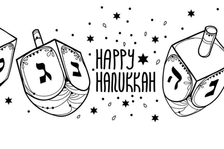 Coloring Pages Hanukkah