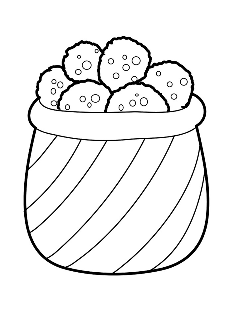 Cookie Printable Coloring Pages