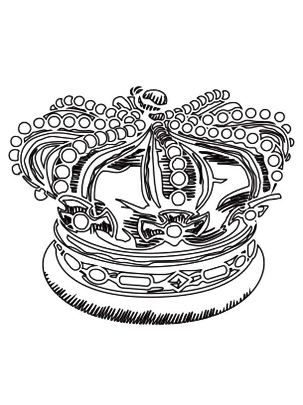 Crown Coloring
