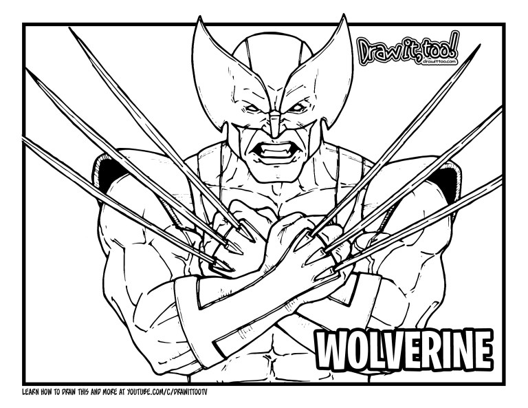 Cyclops Coloring Pages