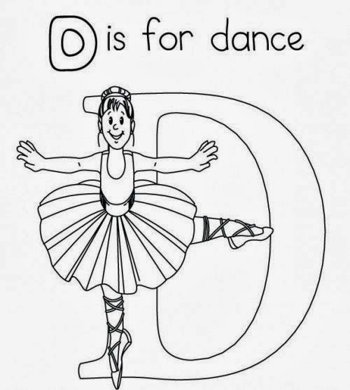 Dance Colouring Pages Books