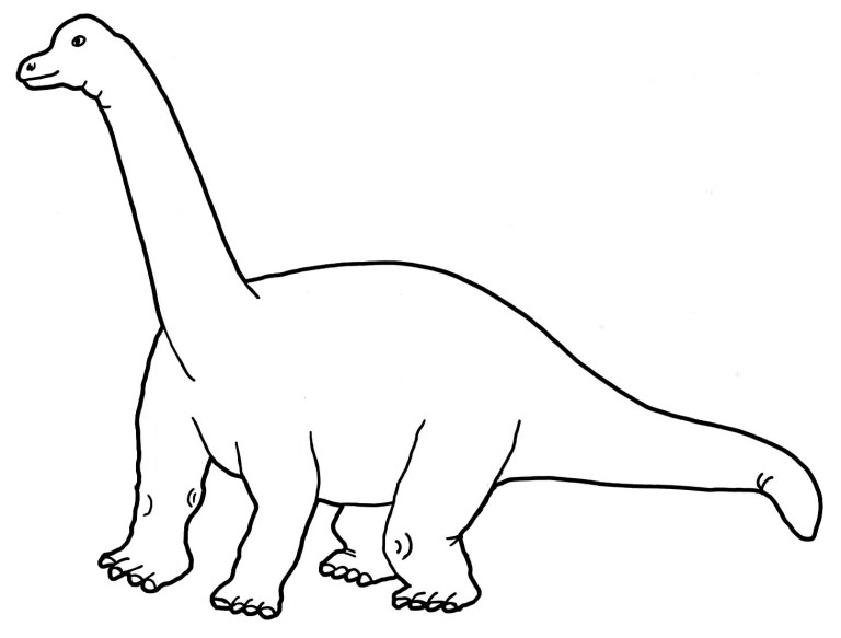 Detailed Dinosaur Coloring Pages