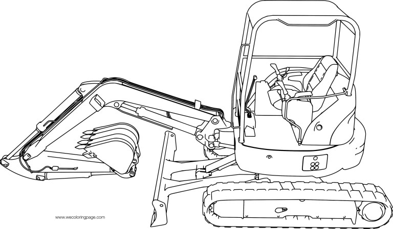 Diggers Coloring Pages