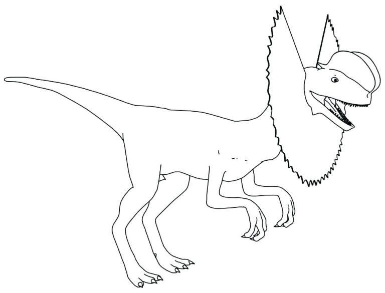 Dinosaur Coloring Pages Triceratops