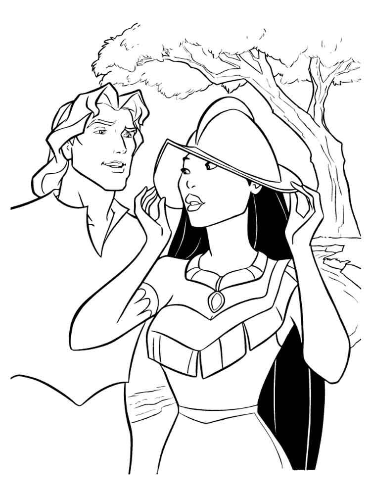Disney Pocahontas Drawings
