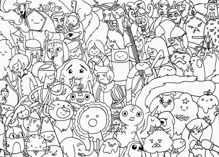 Finn Coloring Pages
