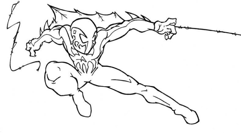 Free Printable Miles Morales Coloring Pages